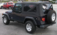 Convertible Tops & Accessories:2004 thru 2006 Jeep Wrangler Unlimited